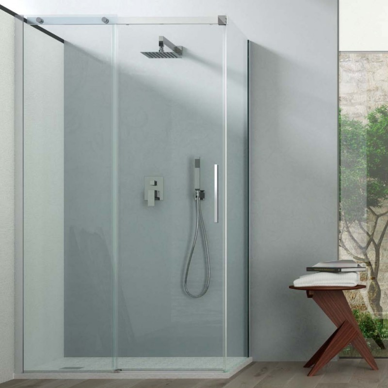 Box doccia angolare altezza 200 cm i t e a sas vendita - Altezza box doccia ...